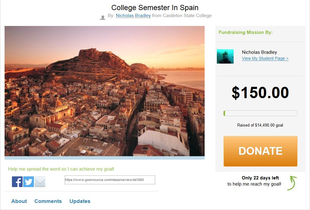 2014-10-09 12_59_06-College Semester In Spain by Nicholas Bradley _ Browse Our Students' Fundraising