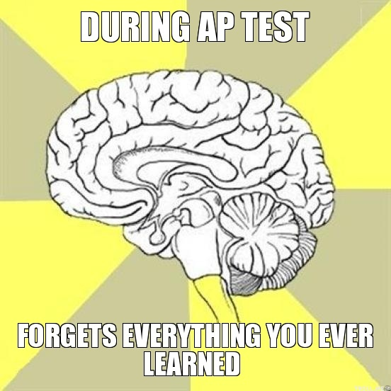 during-ap-test-forgets-everything-you-ever-learned