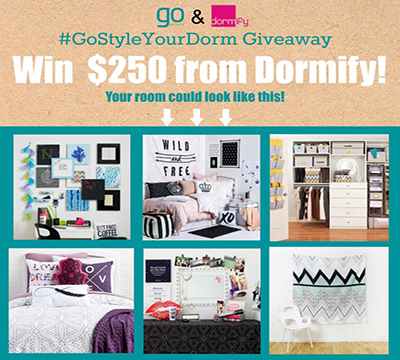 Dormify and GO Contest Resized