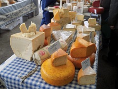 Cheese Stand at the Milk Market